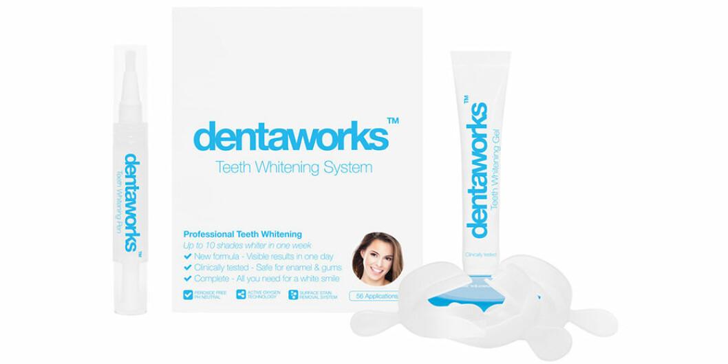 Kit med tandblekning från Dentaworks