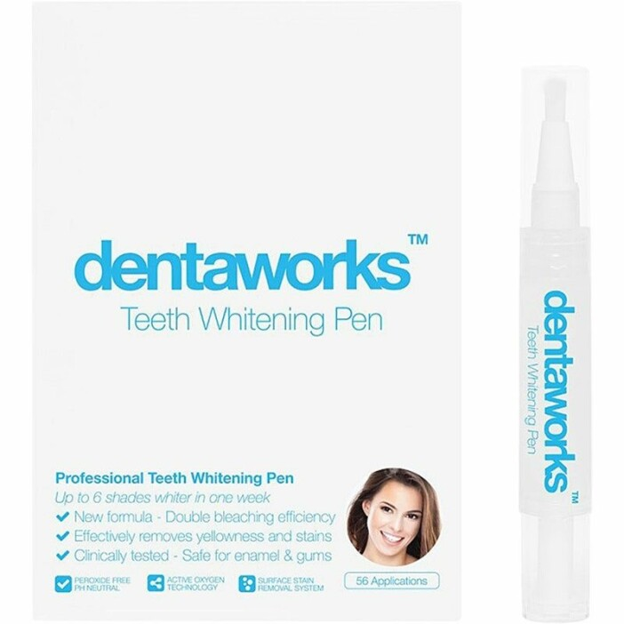 dentaworks teeth whitening pen tandblekningspenna bäst i test betyg omdöme