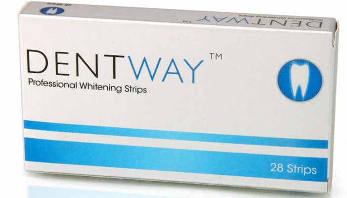 dentway professional whitening strips recension betyg omdöme