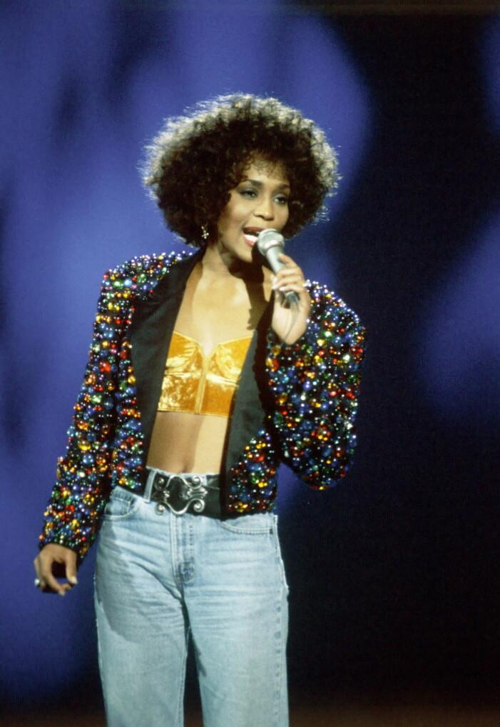 Whitney Houston på Des o'connor tonight