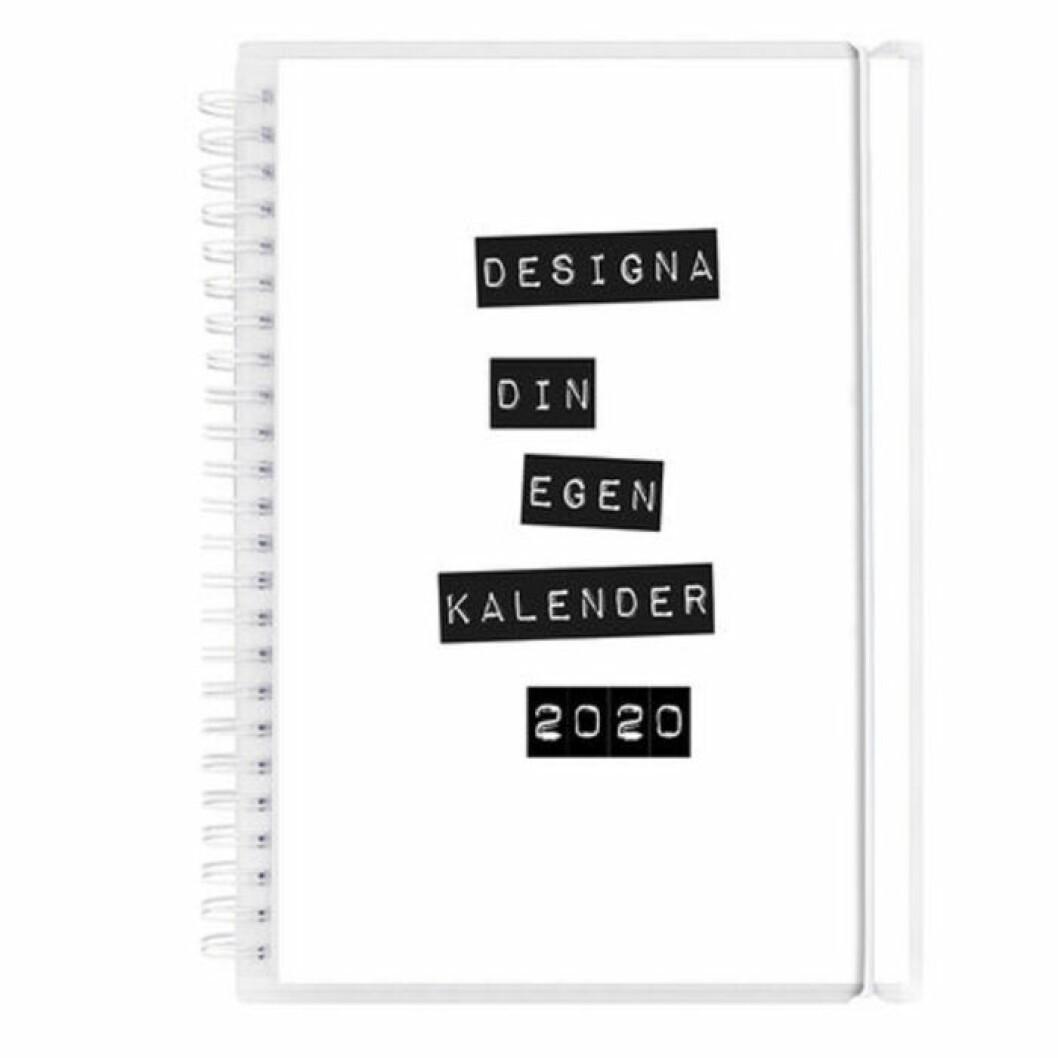 Kalender att designa själv 2020