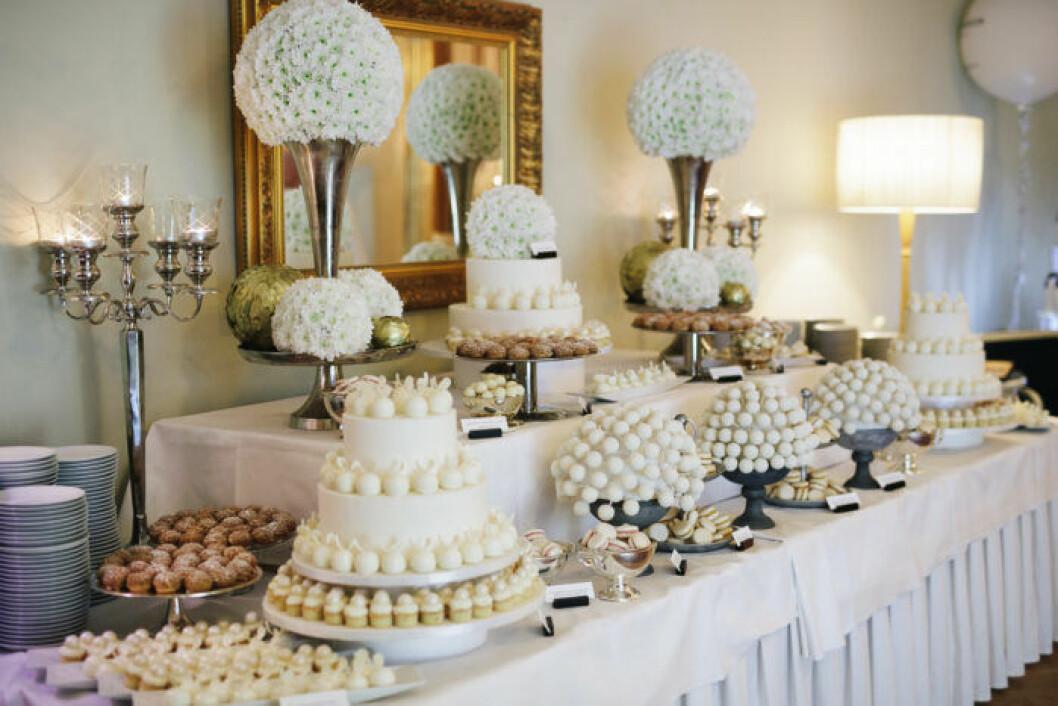 Dessertbordet på ELLE-galan 2019.