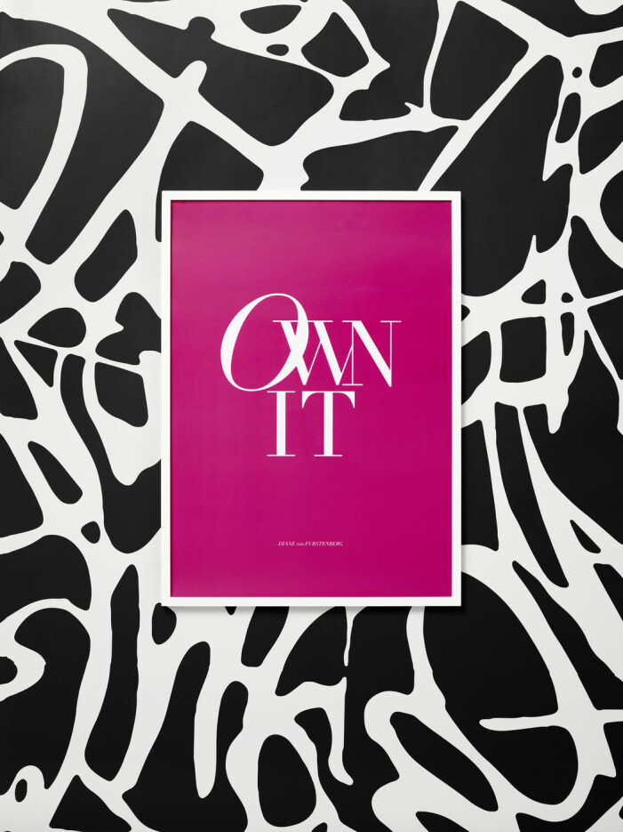 Diane von Furstenberg x H&M Home, Own it poster