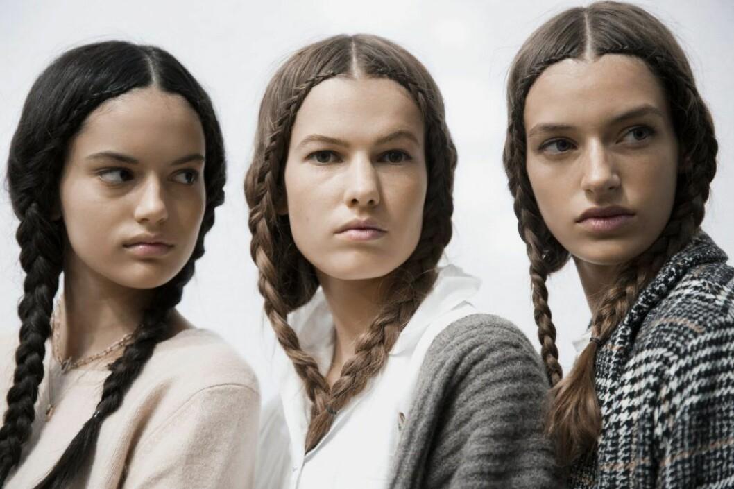 Backstage Dior, modeller.