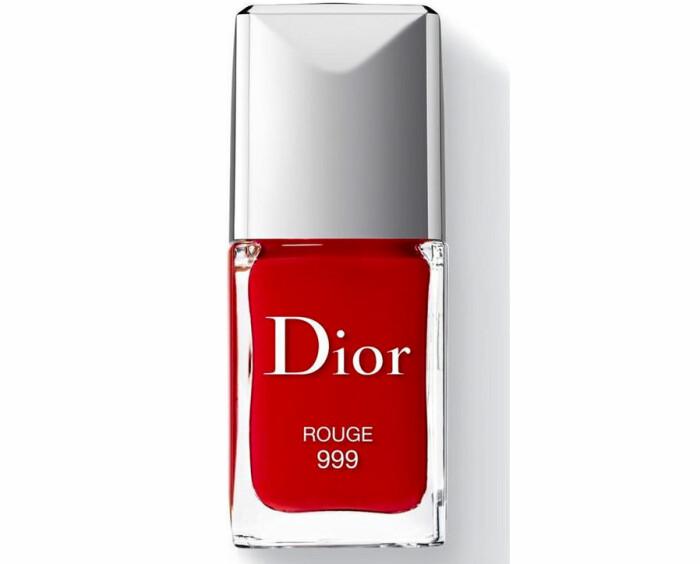 dior rouge 999 bästa röda nagellack