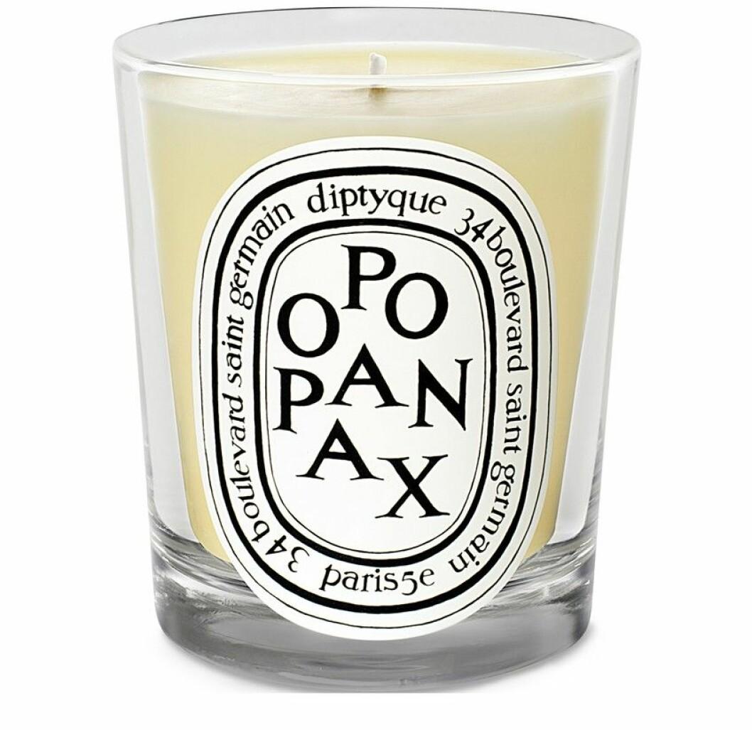 Doftljuset Opopanax från Diptyque.
