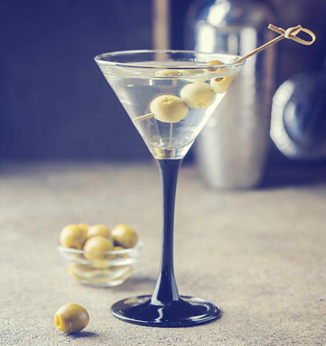 Recept dirty martini