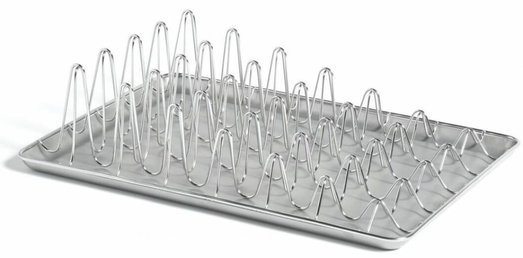 hortwave dish rack med design av Leon Ransmeier från Hay