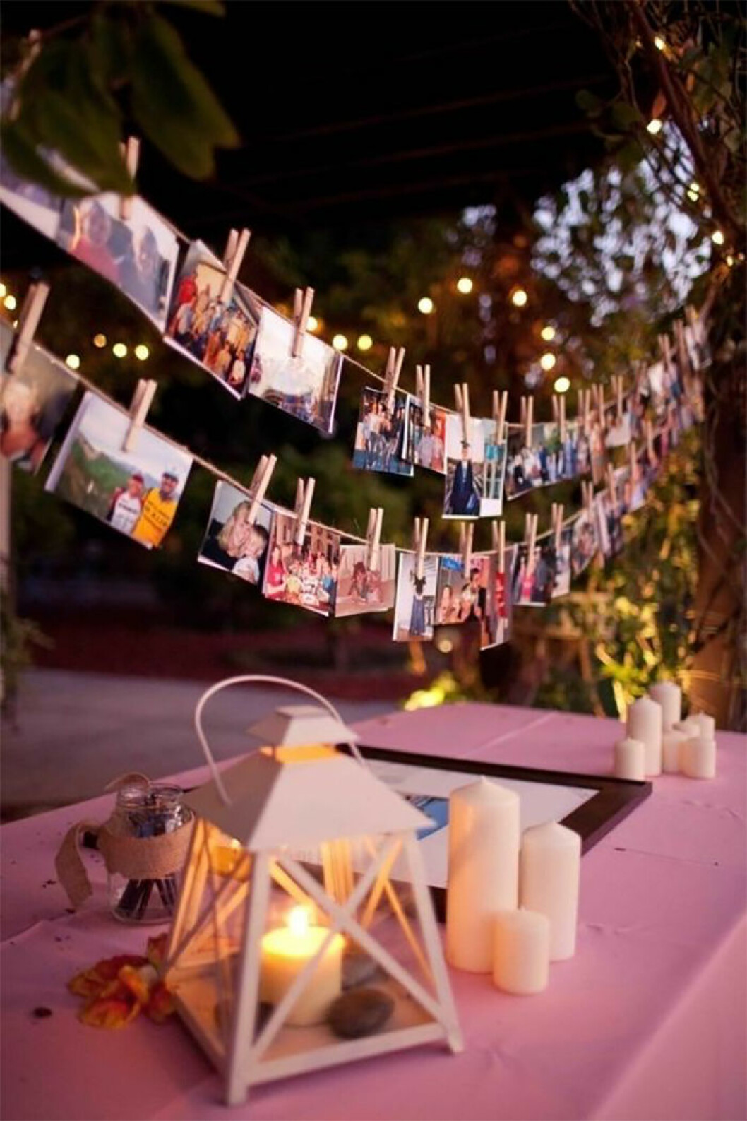 Fotogirlanger till bröllop.