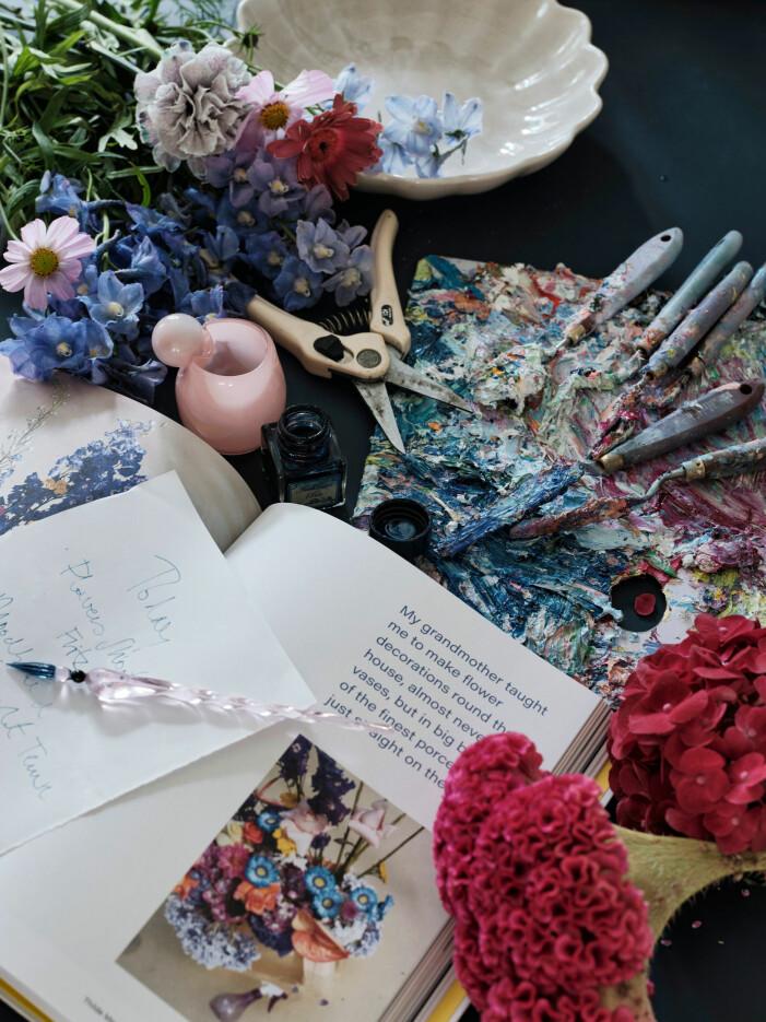 Skapa konst med blommor i sommar, DIY-projekt i sommar