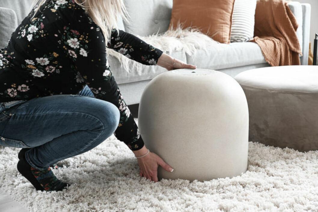 DIY: Stilrent soffbord av en betongkruka, steg 1