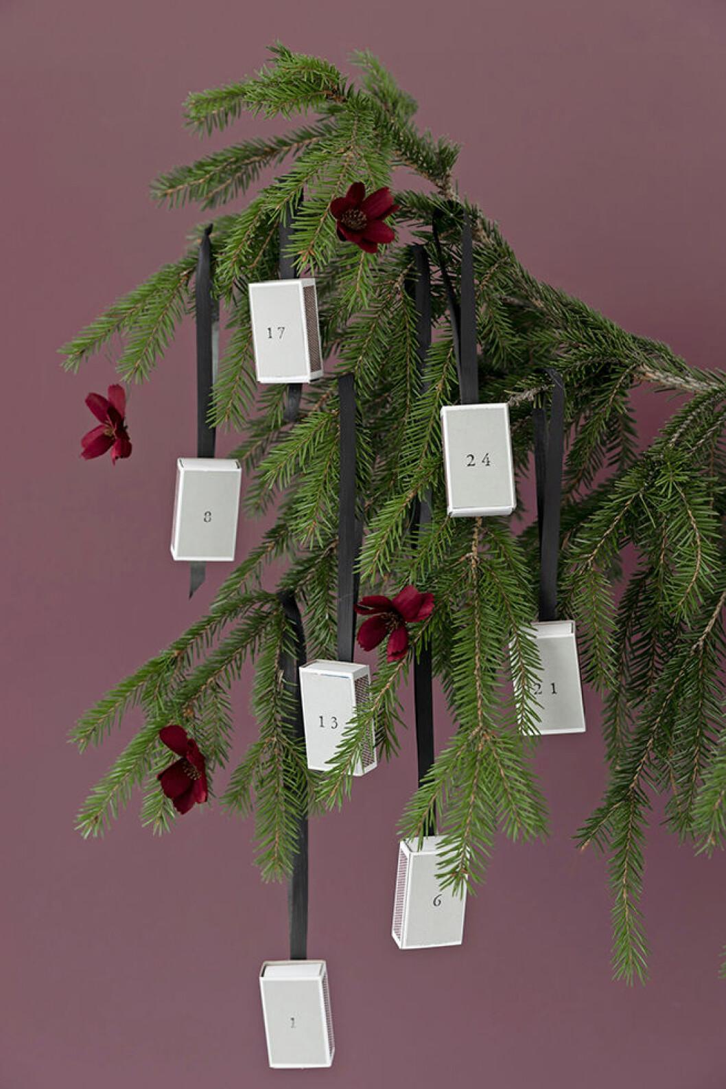 Julkalender DIY