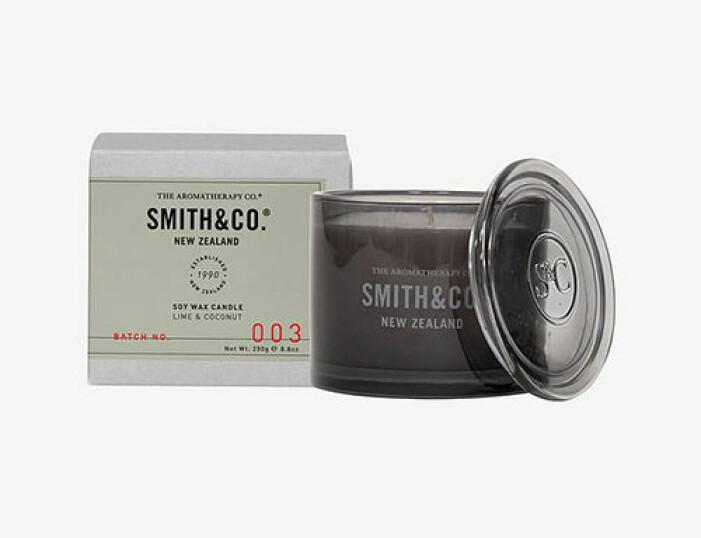 Doftljus med doft kokos, Smith & Co