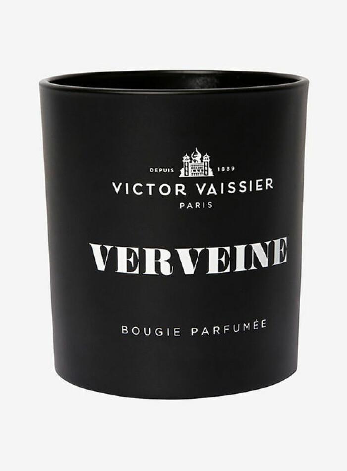 Doftljus med fräsch doft, Victor Vaissier