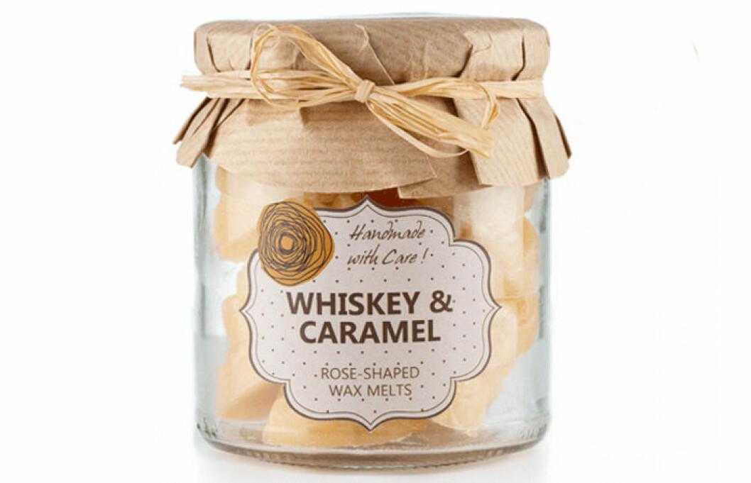 doftljus whisky karamell