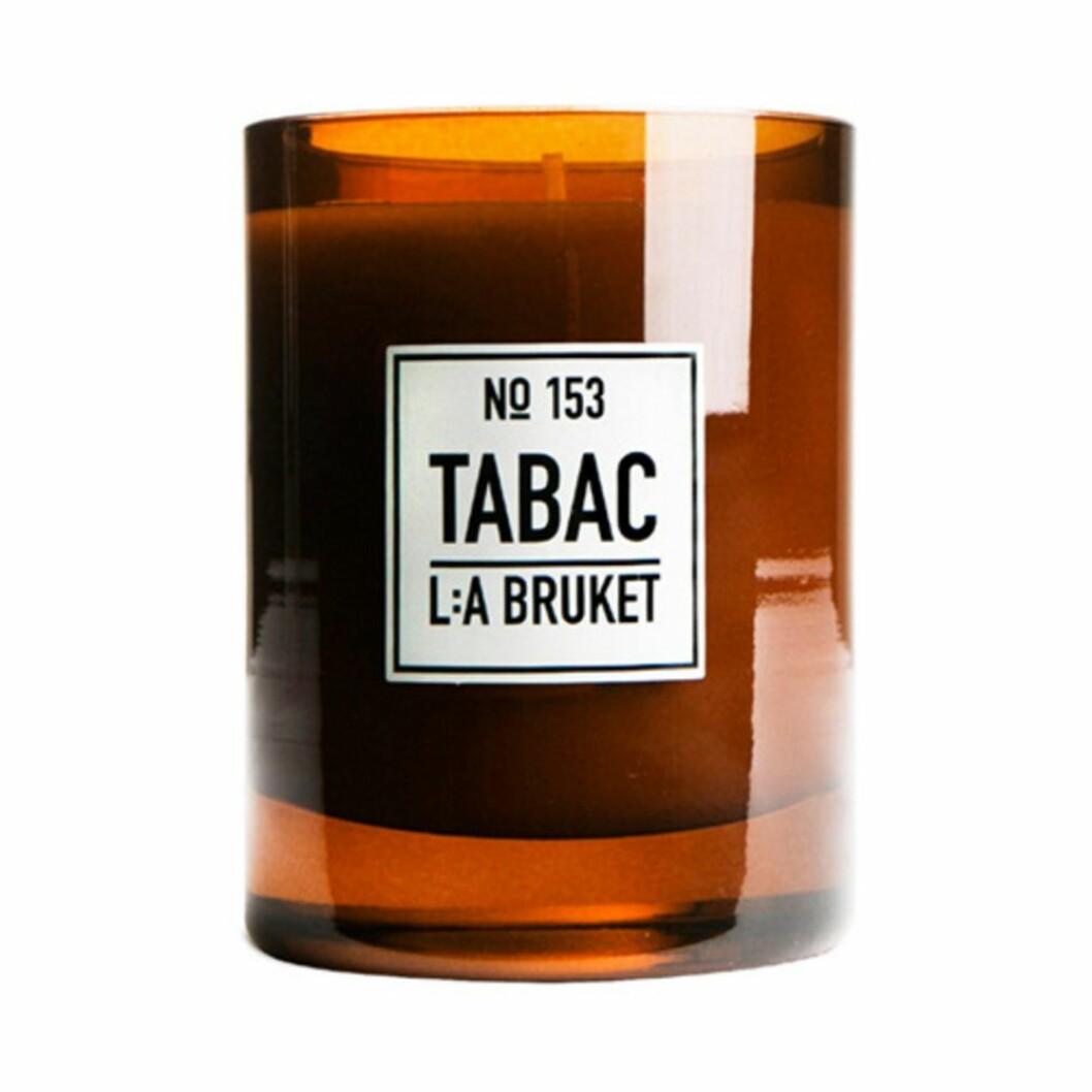 Doftljuset Tabac från L:a Bruket
