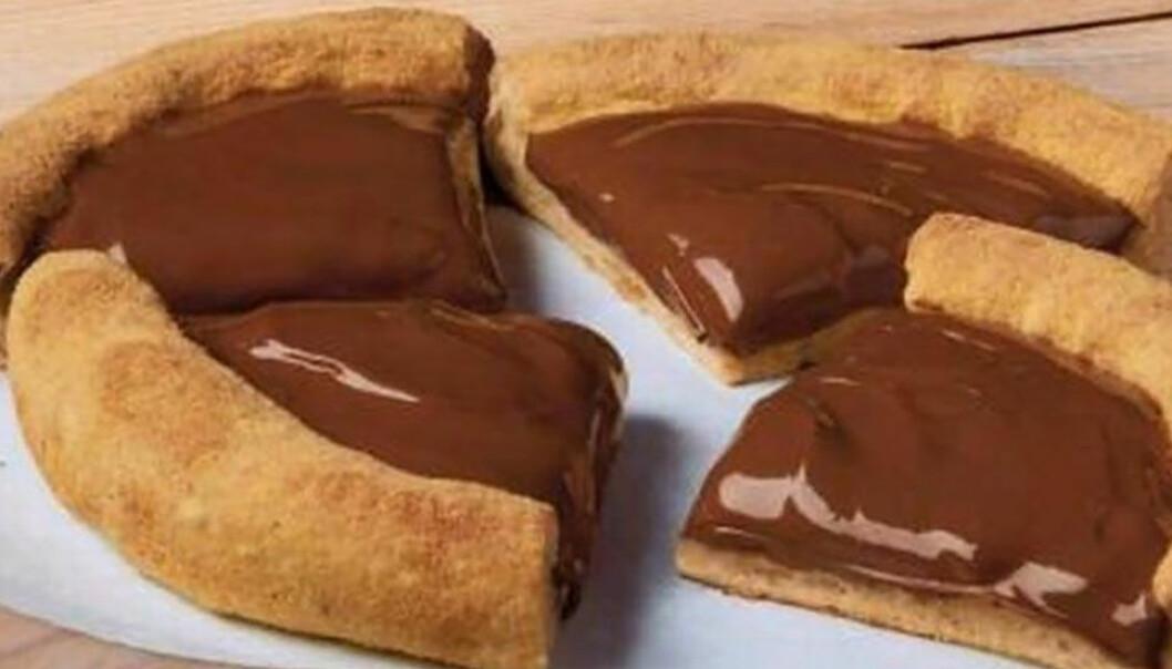 Domino's lanserar Lotta-Chocca pizza med choklad!