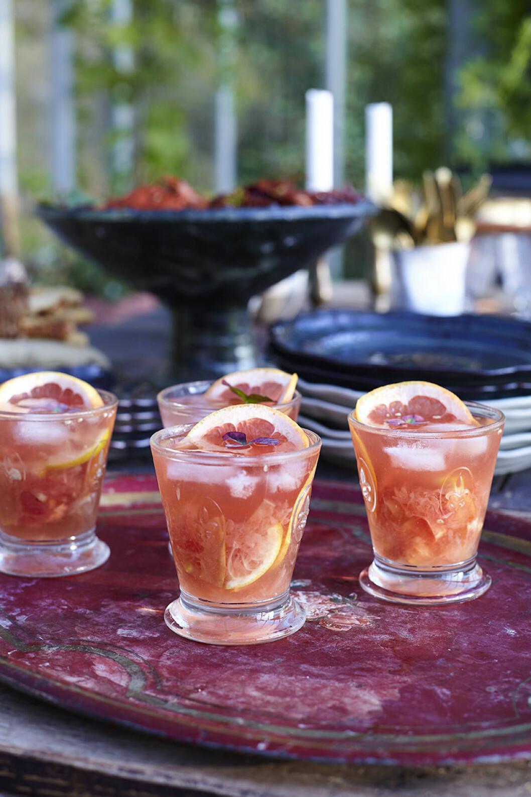 Recept grape drink
