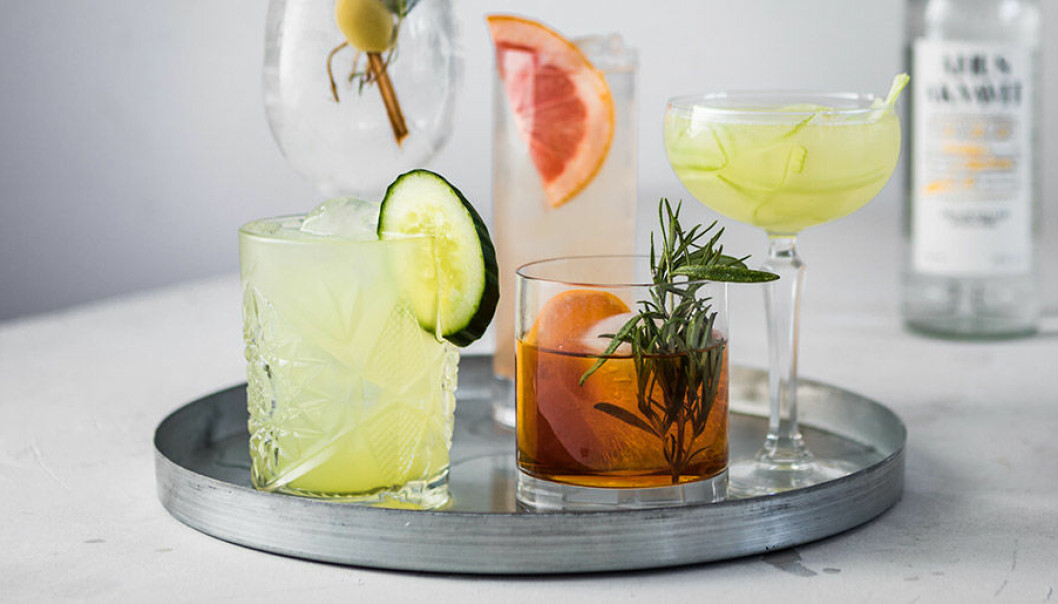 Trendiga drinkar med Åhus Akvavit.