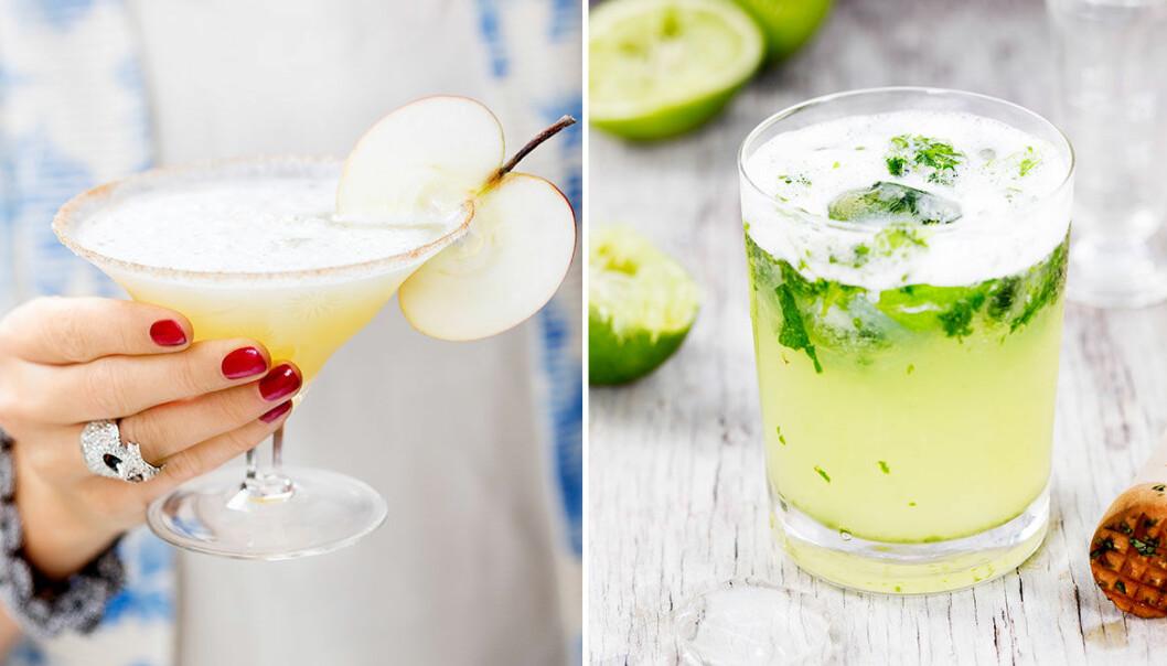 Drinkar deluxe – perfekt till minglet eller som fördrink innan maten!