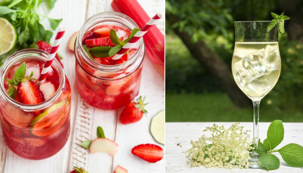 olika drinkar med få ingredienser i
