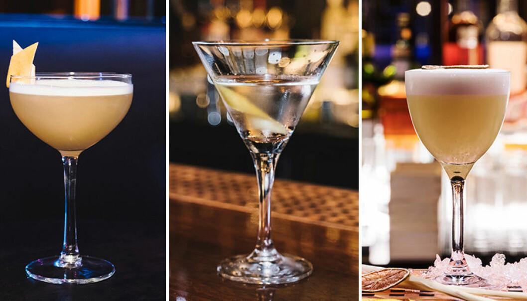 Tre goda drinkar till nyår. Foto: Stockholm Krogbolag
