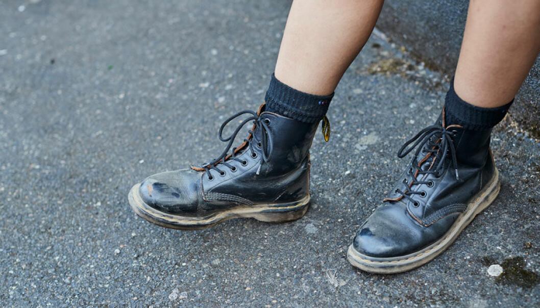 Det gör ont att gå in nya Dr. Martens-skor.