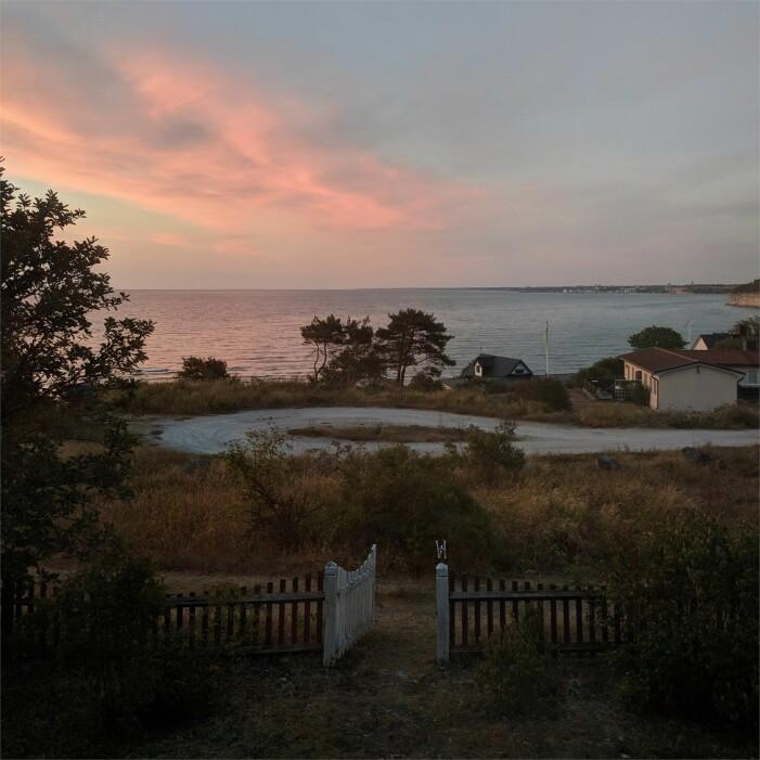 Magiskt sommarhus på Visby i Gotland