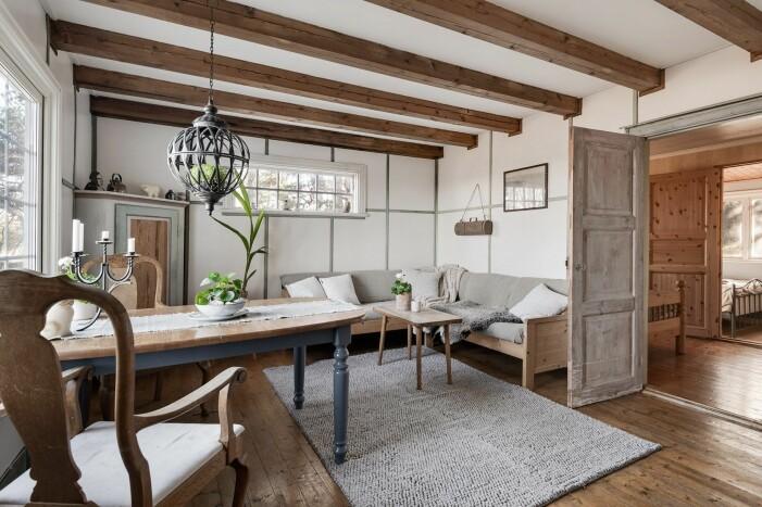 Sommarhus på Gotland, originaldetaljer i trä