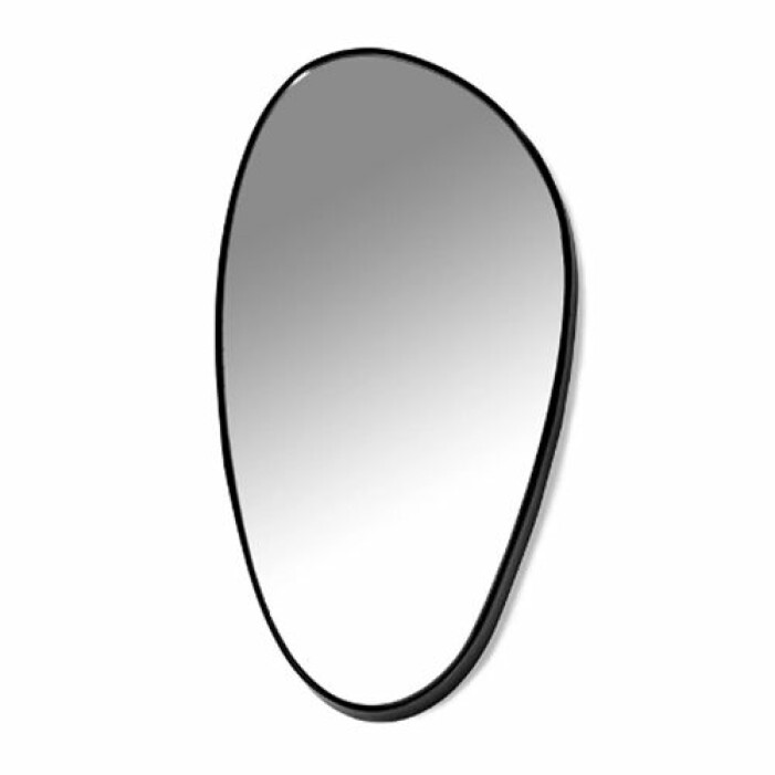 droppformad spegel från serax