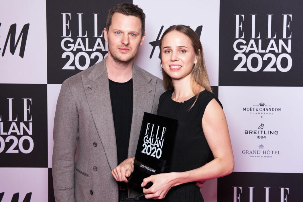 Årets designer är Elin Kling och Karl Lindman på Totême.