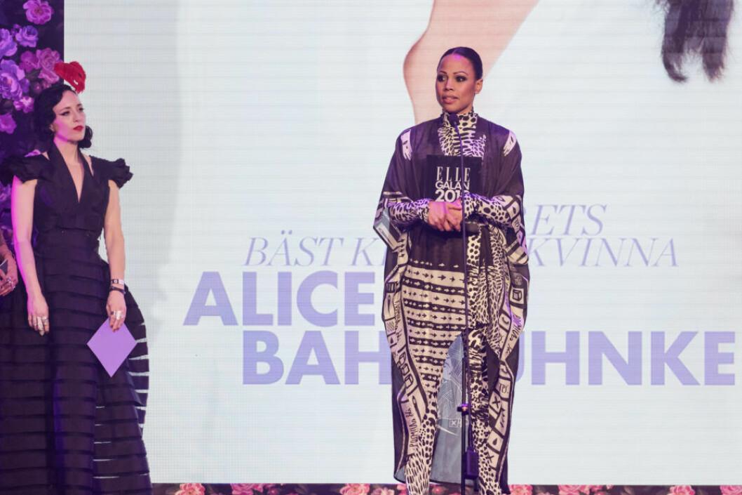 """Alice Bah Kuhnke vann priset """"Årets bäst klädda kvinna"""""""