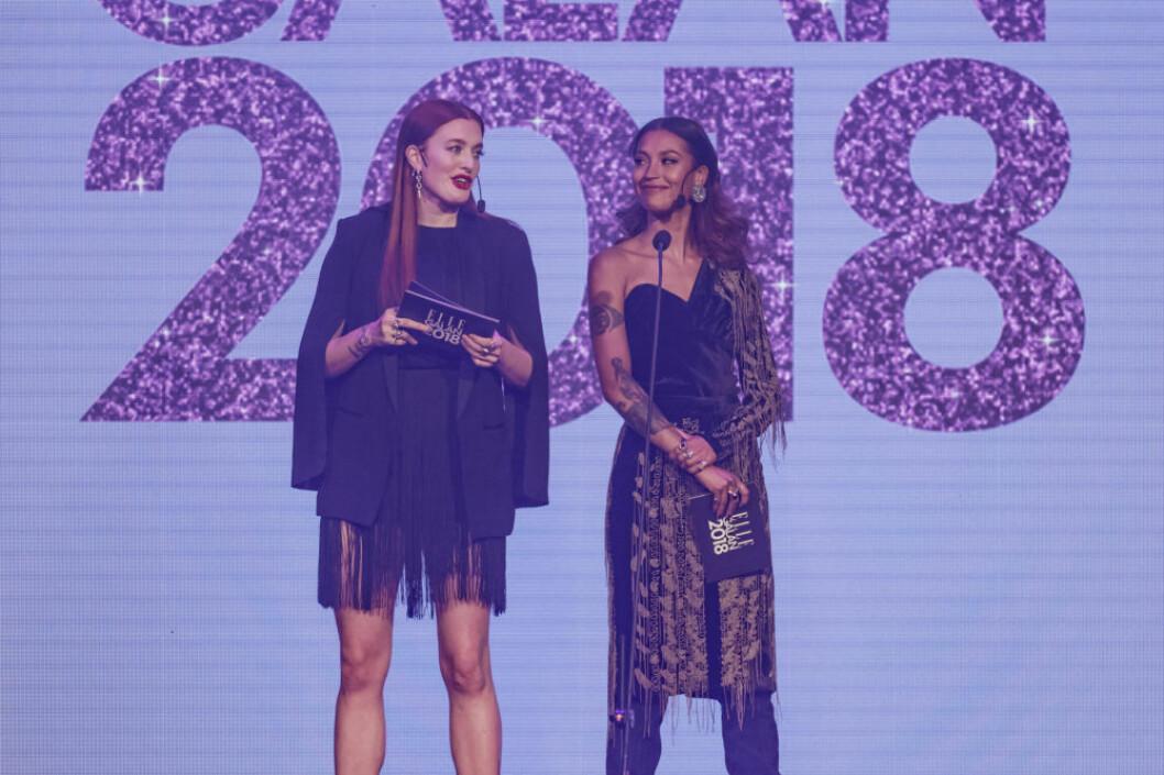 Icona Pop på ELLE-galan 2018.