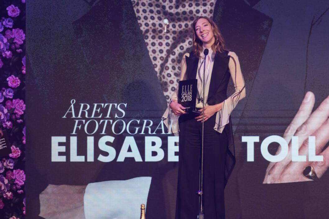 "Elisabeth Toll vann priset ""Årets fotograf""."