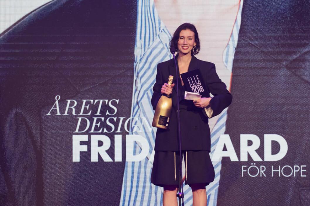 Frida Bard som är chefsdesigner på Hope.