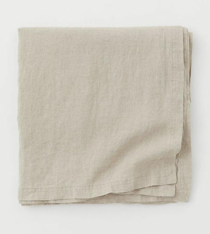 Duk i tvättat linne från H&M Home