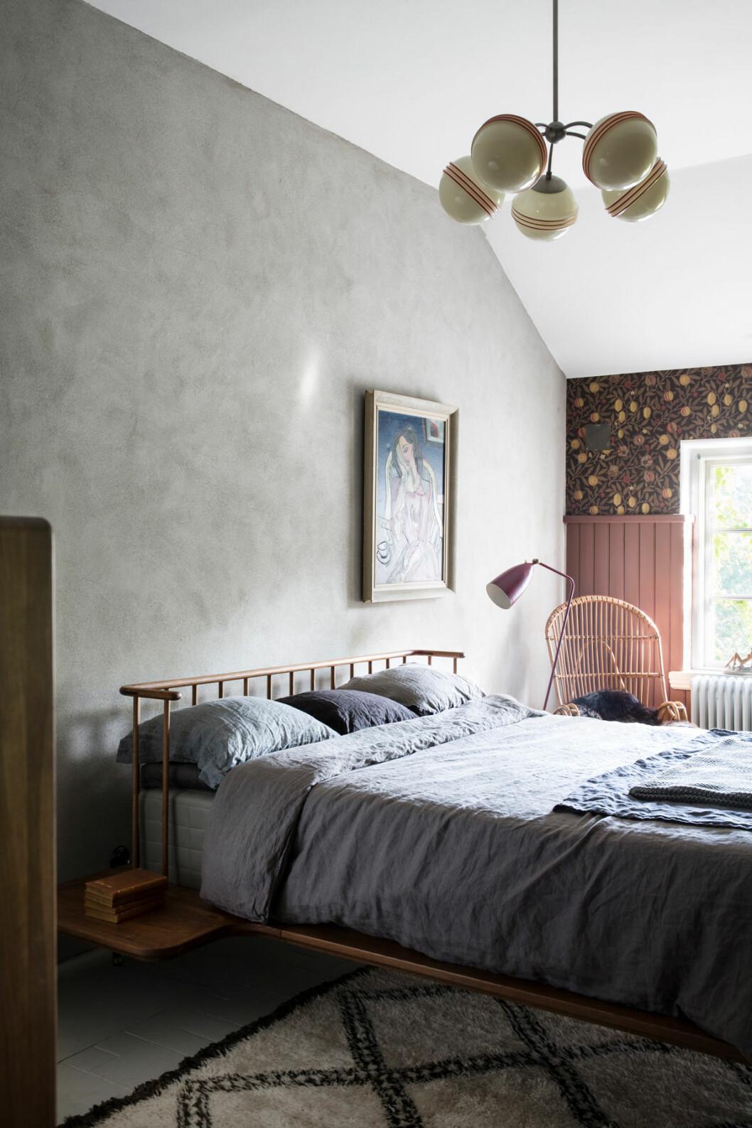 Dunke Design Höganäs sovrum