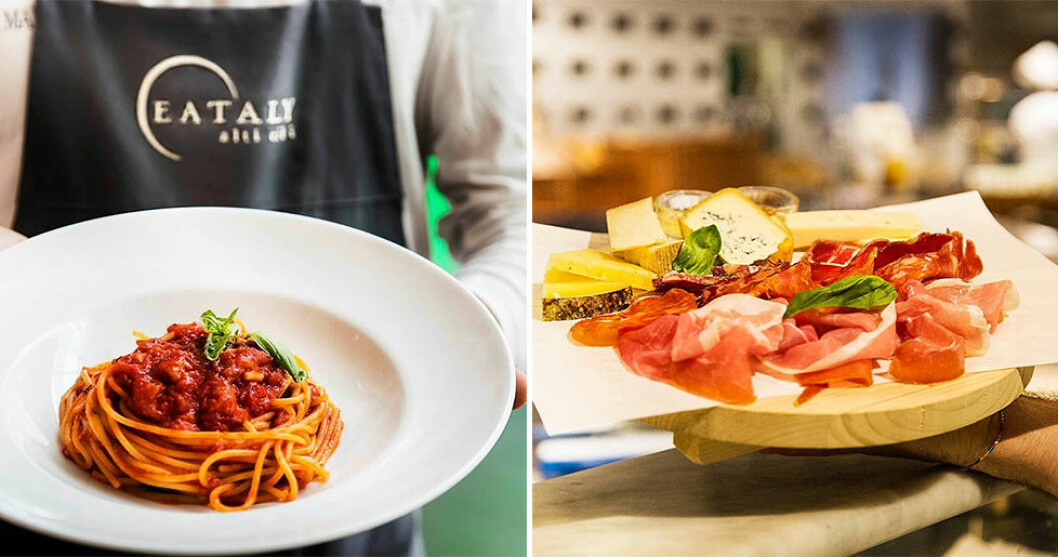Italienska Eataly öppnar i Stockholm.