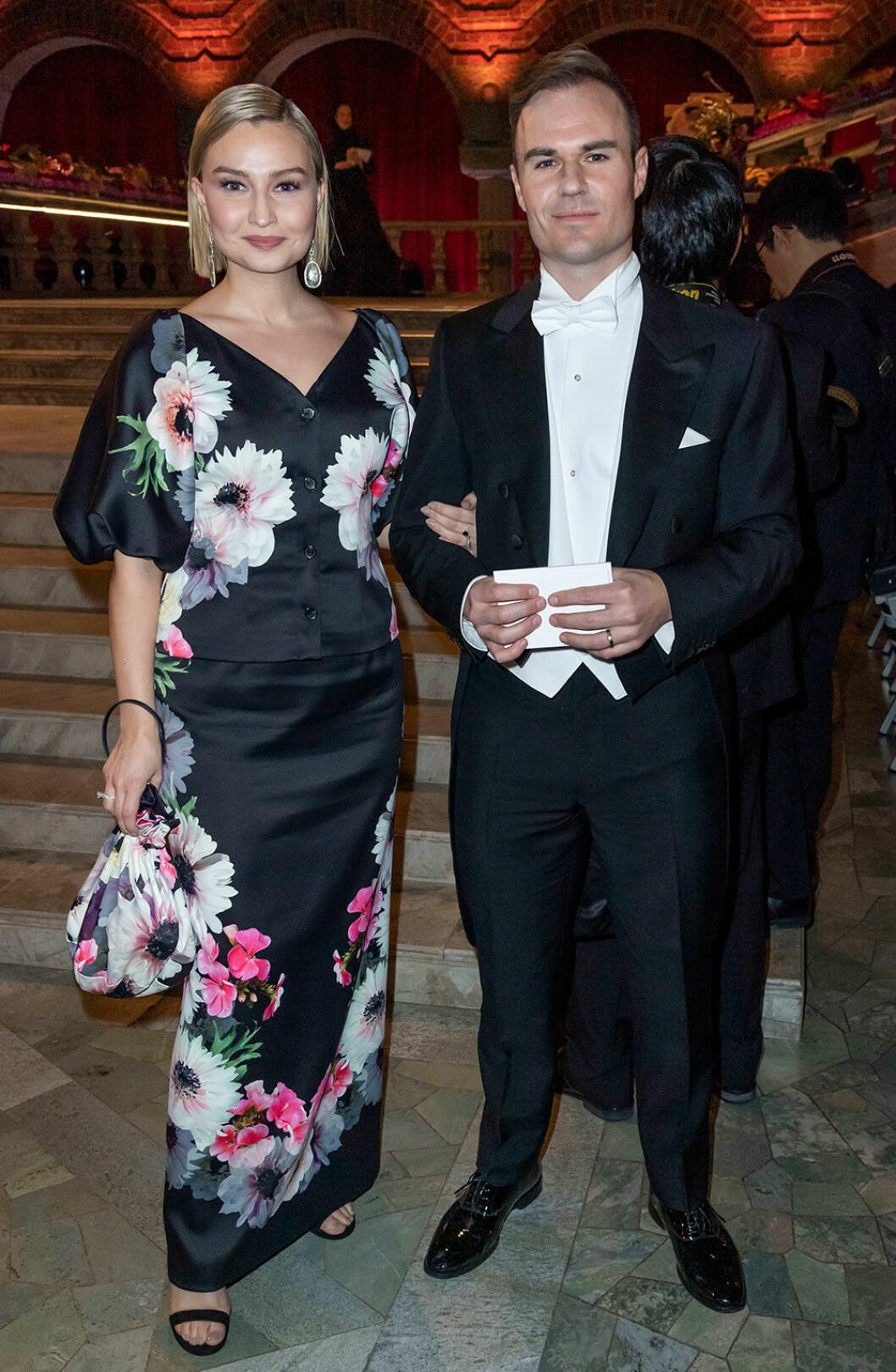 Ebba Busch Thor i klänning från Stylein på Nobel 2018