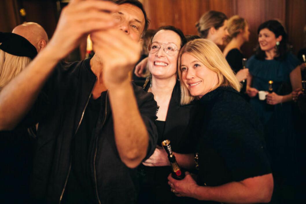 Cia Jansson och Maria Sjölander på festen på ELLE Decoration Swedish Design Awards 2019