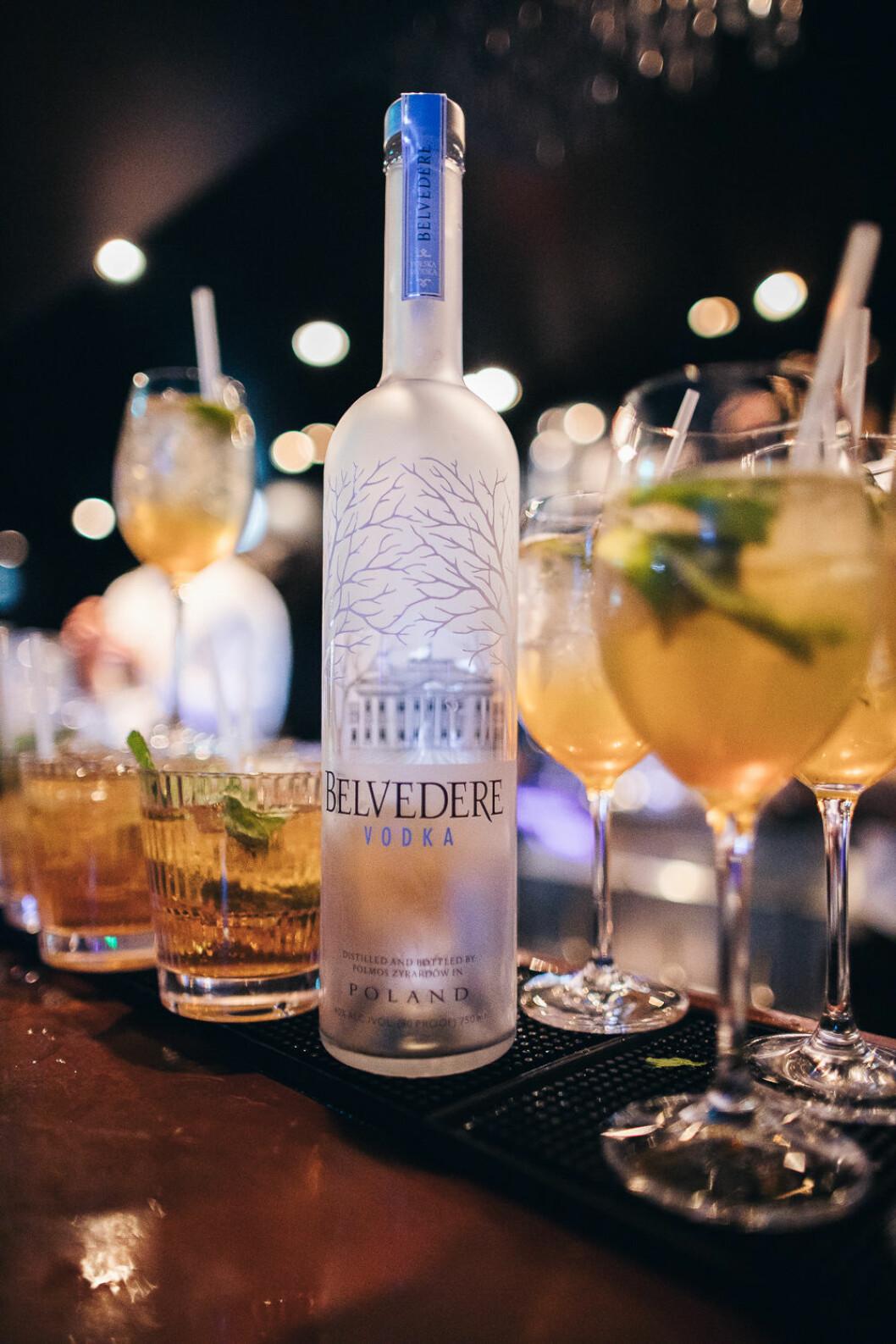 Belvedere i drinkarna festen på ELLE Decoration Swedish Design Awards 2019