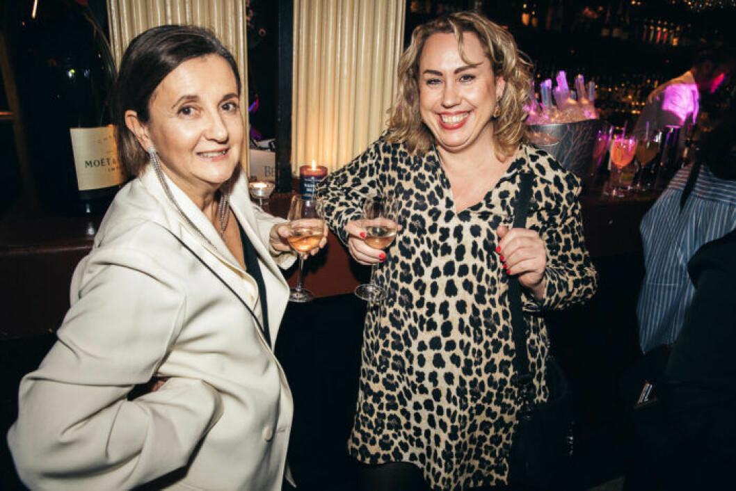 Mingel på festen på ELLE Decoration Swedish Design Awards 2019