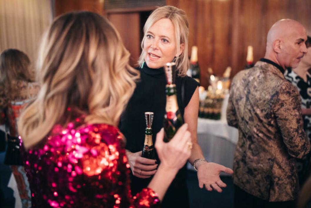Mingel på gång festen på ELLE Decoration Swedish Design Awards 2019