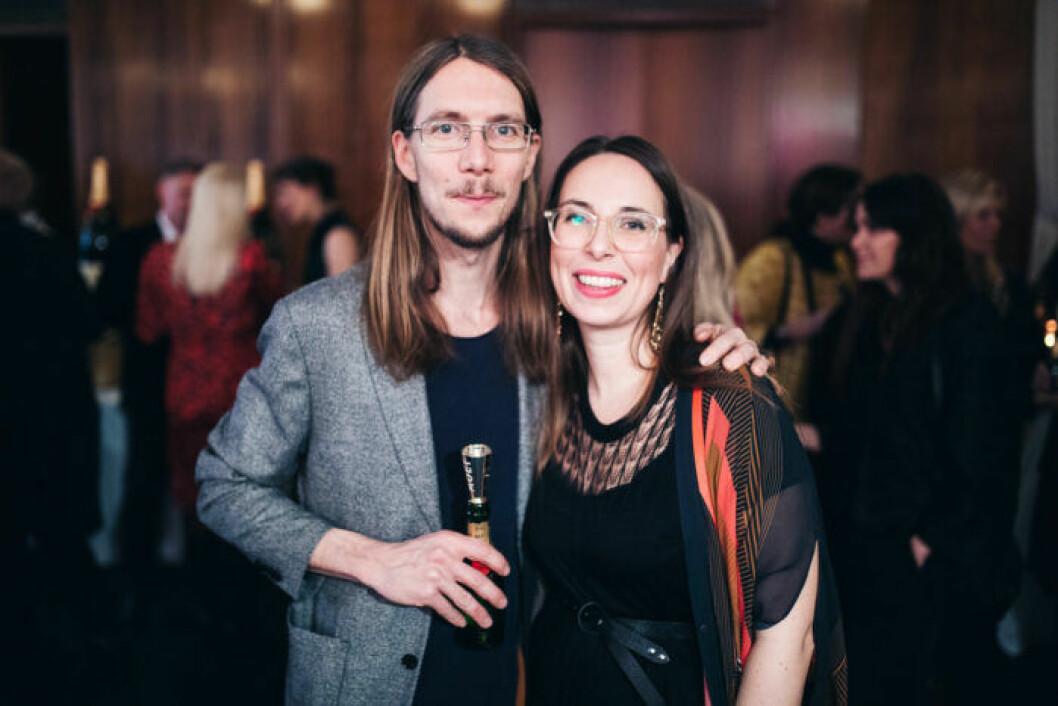 Årets designer Färg & Blanche på festen på ELLE Decoration Swedish Design Awards 2019