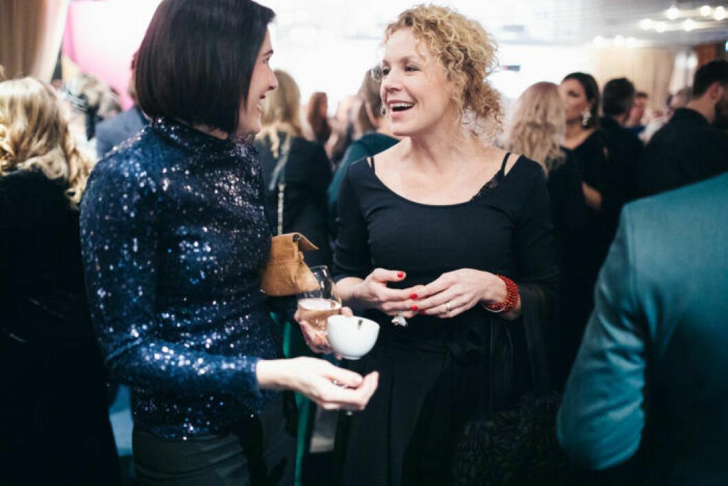 Daniella Witte på festen på ELLE Decoration Swedish Design Awards 2019