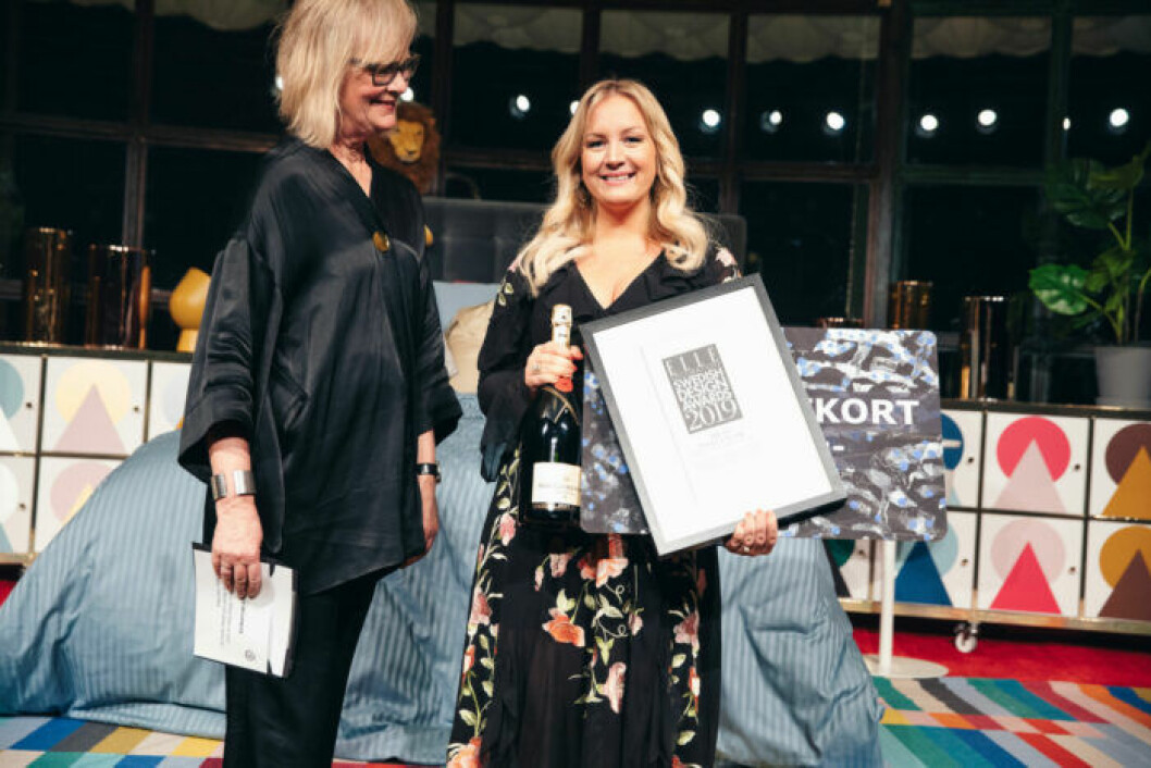 Glada vinnare på ELLE Decoration Swedish Design Awards 2019