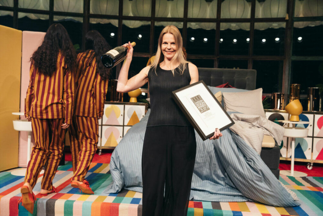 Glad vinnare på ELLE Decoration Swedish Design Awards 2019