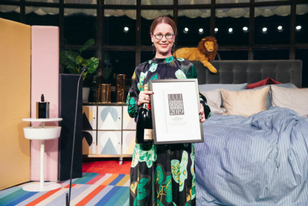 Årets hederspris gick till Nationalmuseum på ELLE Decoration Swedish Design Awards 2019