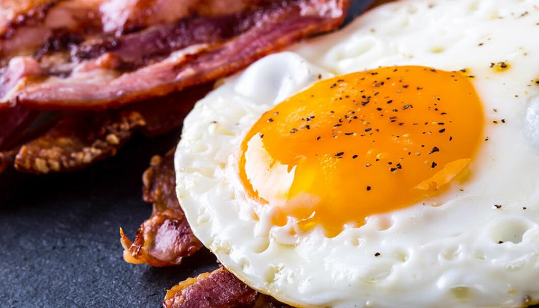 Ägg och bacon kan hjälpa till att bota bakfyllan.