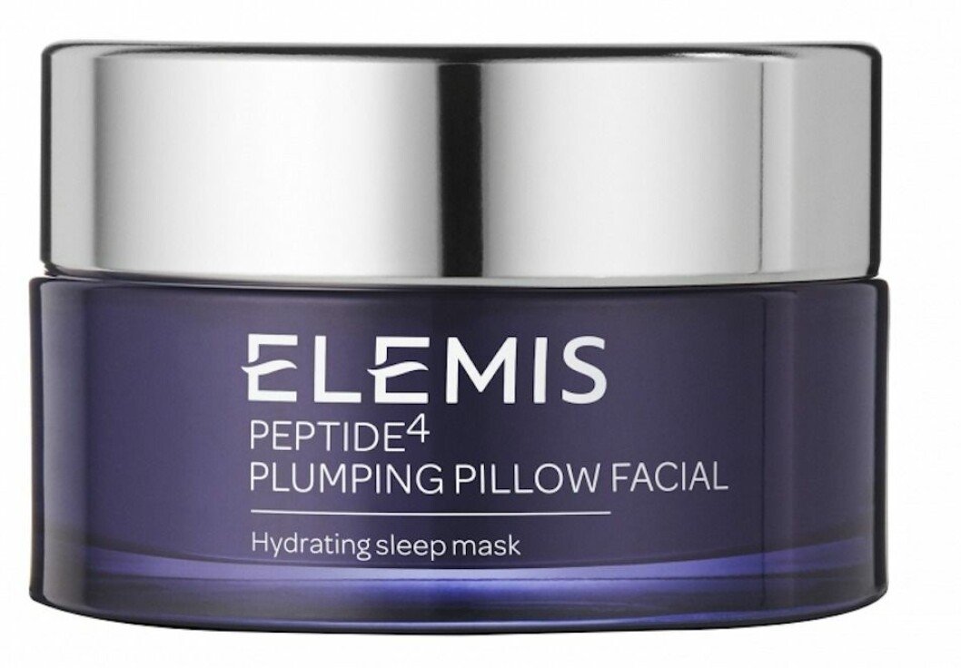 elemis peptide4 plumping pillow facial hydrating sleep mask ansiktsmask gravid